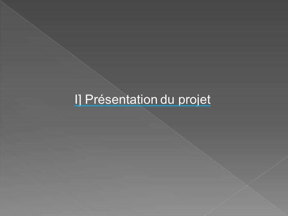I] Présentation du projet